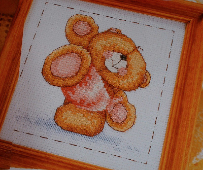 Forever Friends Bear ~ Cross Stitch Chart