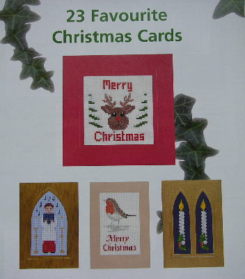 23 Favourite Christmas Cards ~ Cross Stitch Charts
