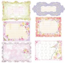 Prima ~ Meadow Lark Journaling Notecards 554859