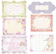Prima ~ Meadow Lark Journaling Notecards 554859