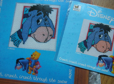 Designer Stitches: Eeyore ~ Mini Cross Stitch Kit