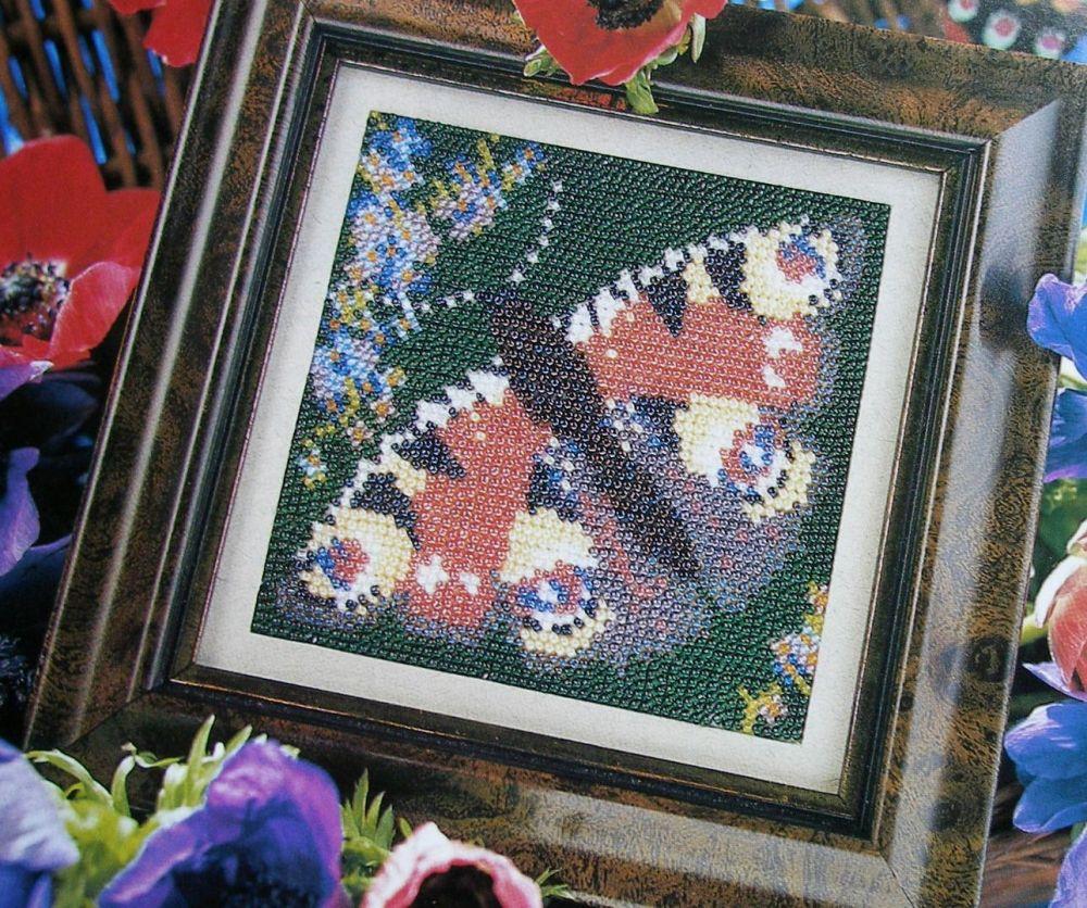 Peacock Butterfly ~ Beadwork Pattern