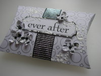 *ever after* OOAK Handmade Wedding Pillow Box Favor Box