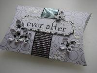 *ever after* OOAK Handmade Wedding Pillow Box Favor Box