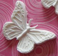 Martha Stewart Large Decorative Butterfly Paper Clay Embellishment