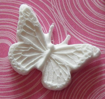 Martha Stewart Small Decorative Butterfly Paper Clay Embellishment
