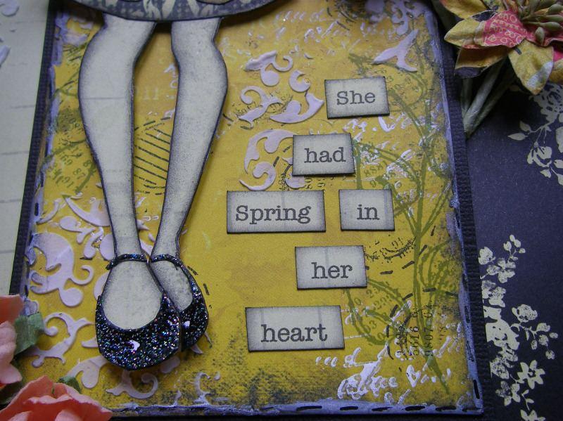 spring in her heart sentiment