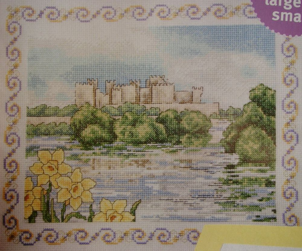 Welsh Landscape ~ Cross Stitch Chart