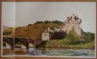 Eilean Donan Castle, Donan, West Scotland ~ Cross Stitch Chart