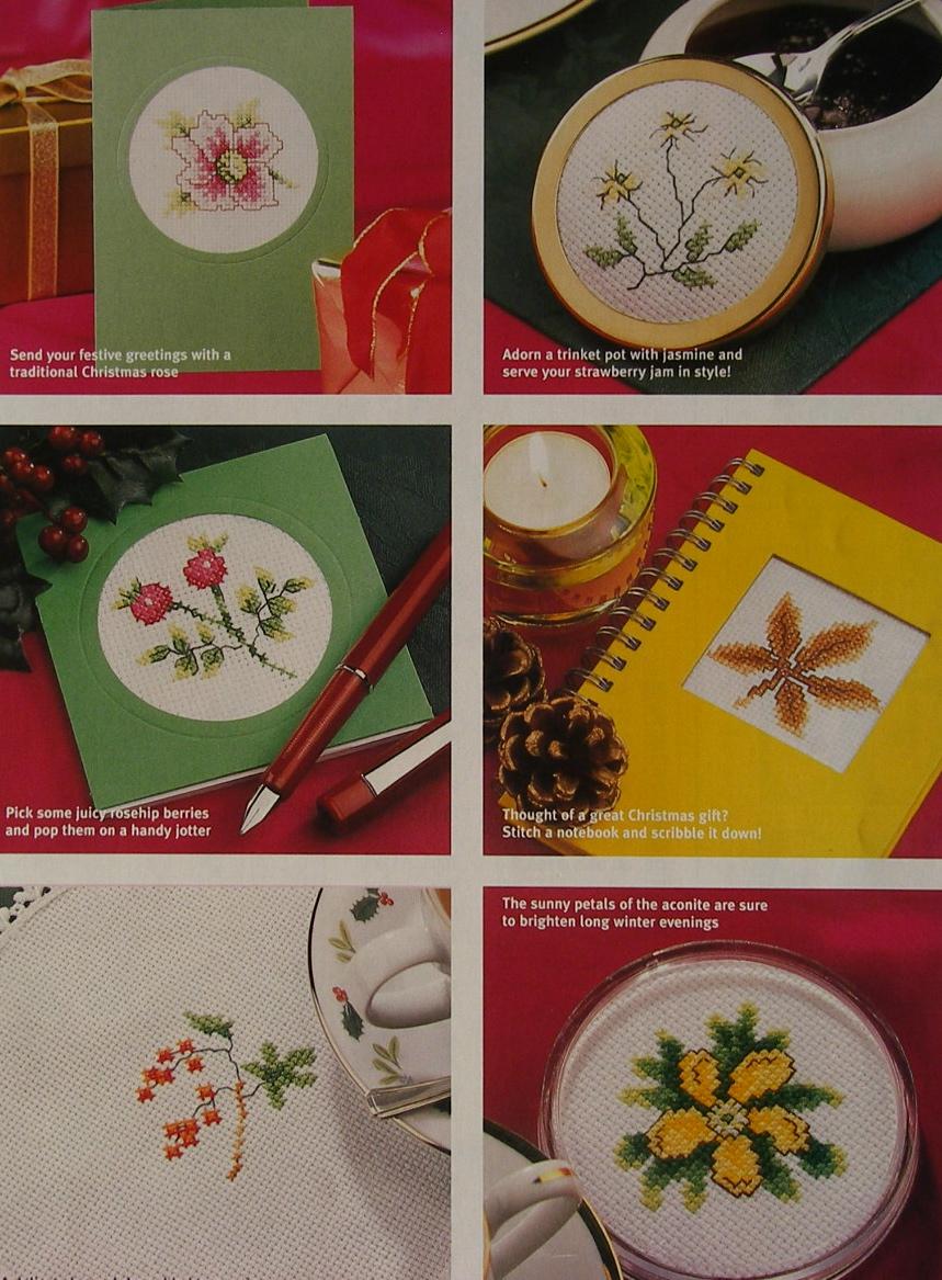 35 Winter Flowers ~ Cross Stitch Charts
