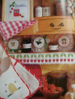 Fruits & Honey: Jam Jar Laceys & Kitchen ~ Samplers Cross Stitch Charts
