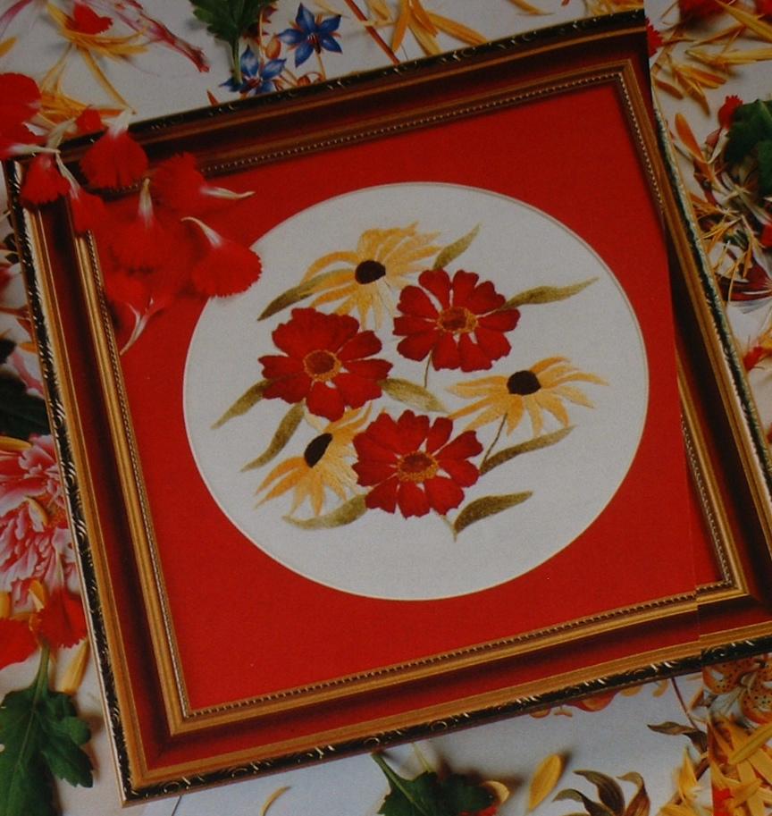 Rudbeckia & Black-Eyed Susan Perennials ~ Hand Embroidery Pattern
