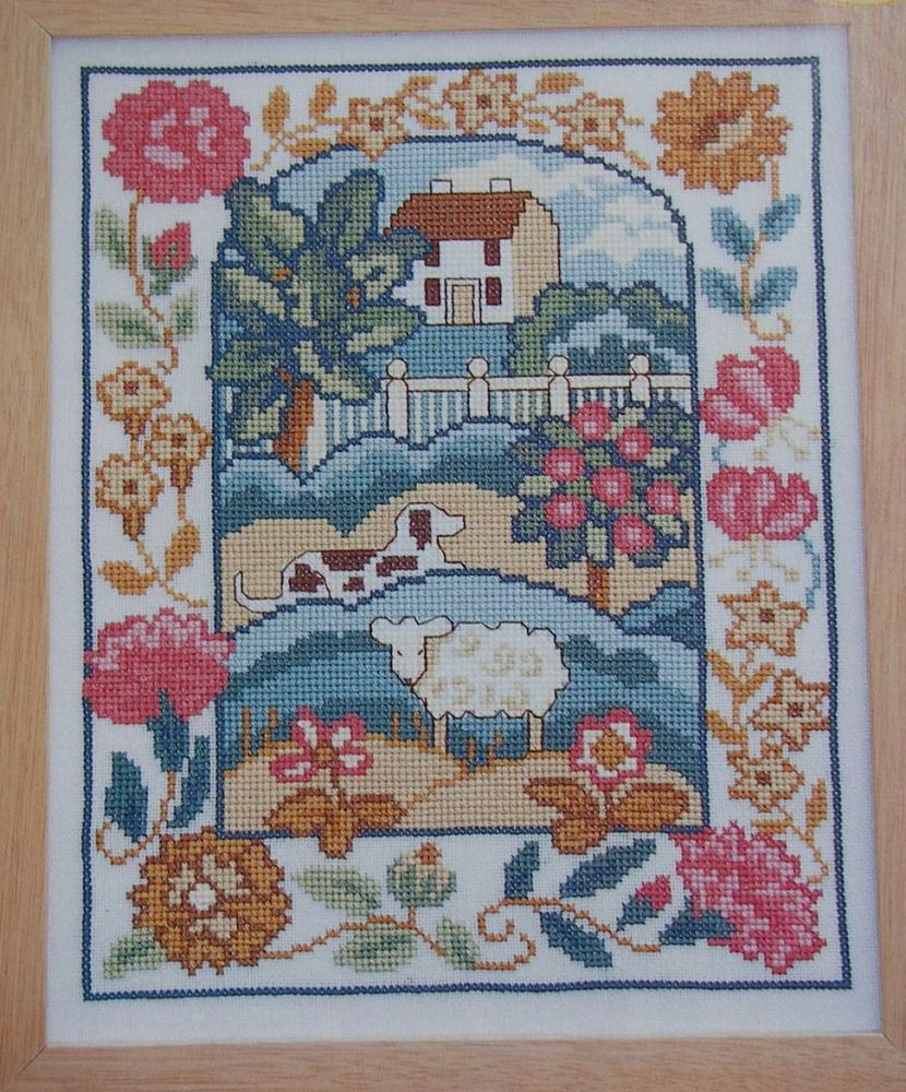 House in the Country Sampler ~ Cross Stitch Chart