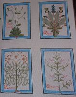 Medieval Herb Garden Sampler ~ Cross Stitch Chart