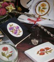 Four Floral Designs ~ Cross Stitch Charts