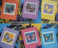 Seven Butterfly Cards ~ Cross Stitch Charts