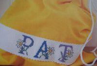 Daisy Flower ABC Alphabet ~ Cross Stitch Charts
