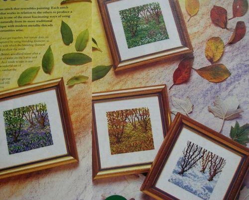 Woodland in Four Seasons ~ Cross Stitch Charts