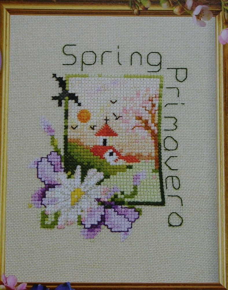 Spring Primavera ~ Cross Stitch Chart