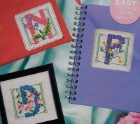 Art Nouveau ABC Alphabet ~ Cross Stitch Charts