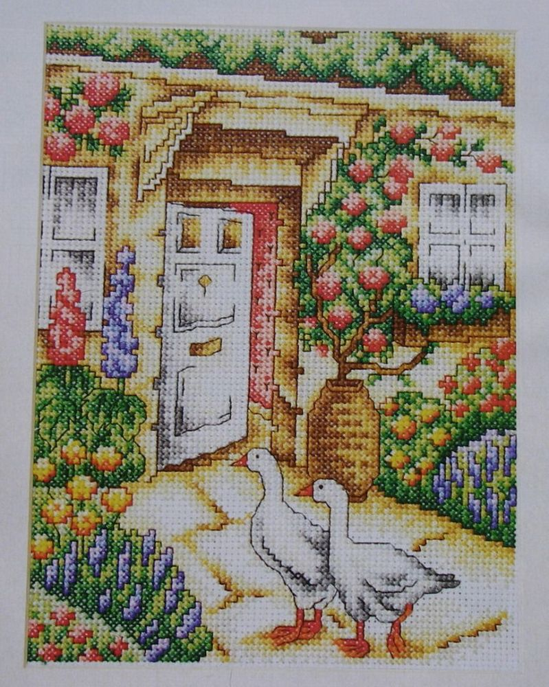 Country Cottage Garden ~ Cross Stitch Chart