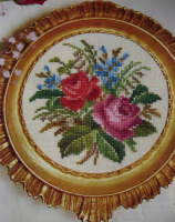 Permin: Antique Roses ~ Cross Stitch Chart