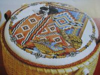Native American Navajo Indian ~ Cross Stitch Chart