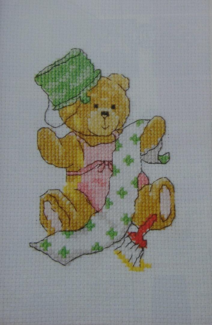 Busy Bear: DIY Bear ~ Cross Stitch Chart