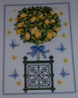 Lemon Tree and Lemons ~ Three Cross Stitch Charts