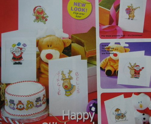 Cute Christmas Cards.34 Cute Quick Stitch Christmas Cards Cross Stitch Charts