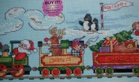 Santa Express ~ Cross Stitch Chart