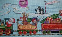Santa Express ~ Cross Stitch Chart