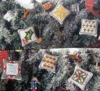 Six Christmas Cards/Decorations ~ Cross Stitch Charts