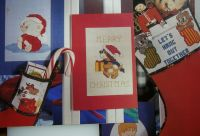Christmas Cards & Stocking Bands ~ Five Cross Stitch Charts