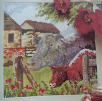 Cows on the Farm ~ Cross Stitch Chart