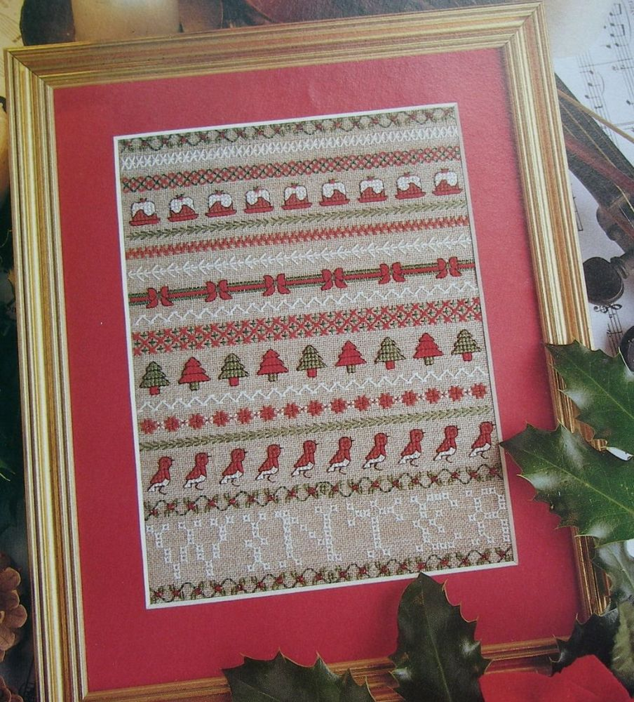 Winter Season Christmas Sampler ~ Cross Stitch Chart