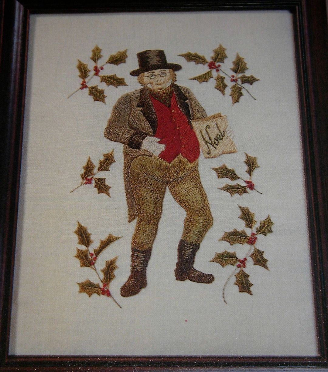 Charles Dickens Mr Pickwick Papers Hand Embroidery