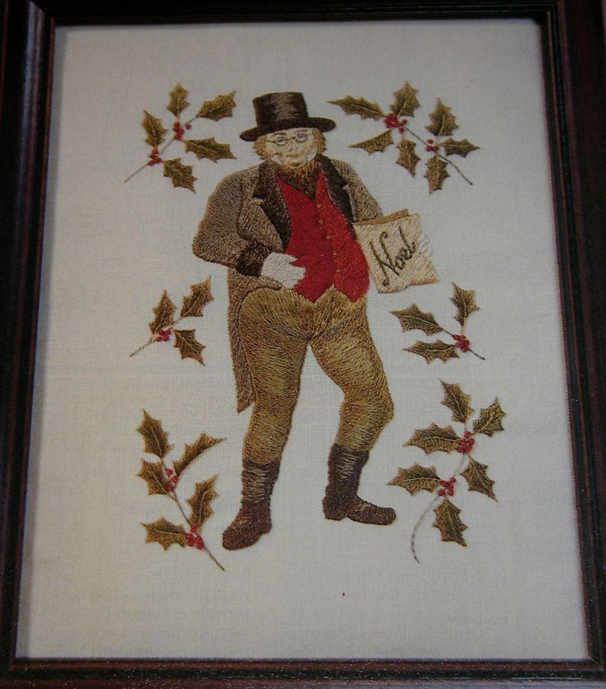 Charles Dickens Mr Pickwick ~ Hand Embroidery Pattern