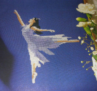 Graceful Ballerina ~ Cross Stitch Chart