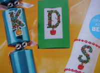 Christmas Topiary Tree ABC Alphabet ~ 26 Cross Stitch Charts