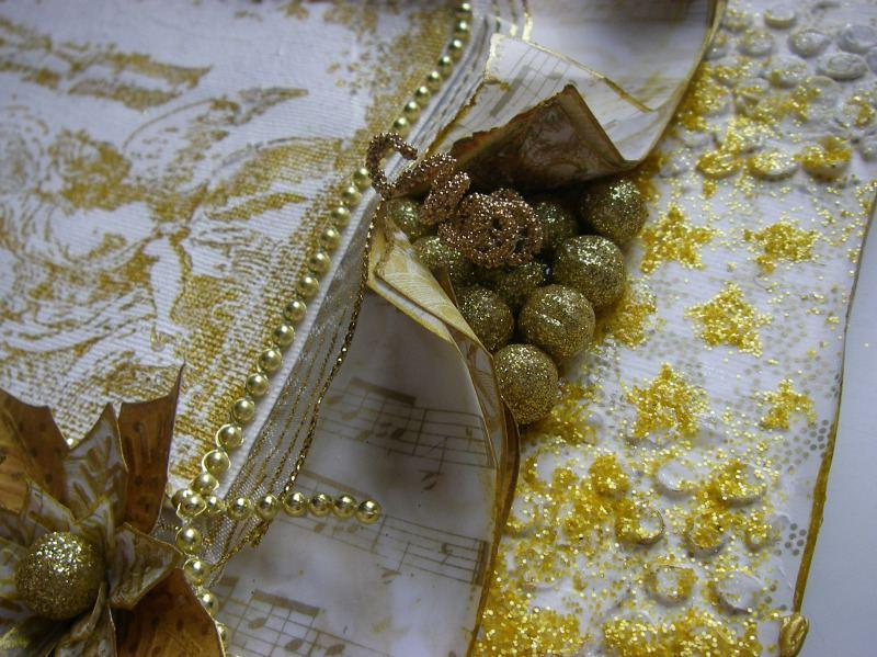 golden cherubs right decoration