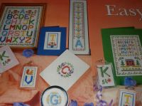 Alphabet Cards & Samplers ~ Eight Cross Stitch Charts