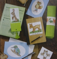 42 Woodland Animals, Birds & Foliage ~ Cross Stitch Charts