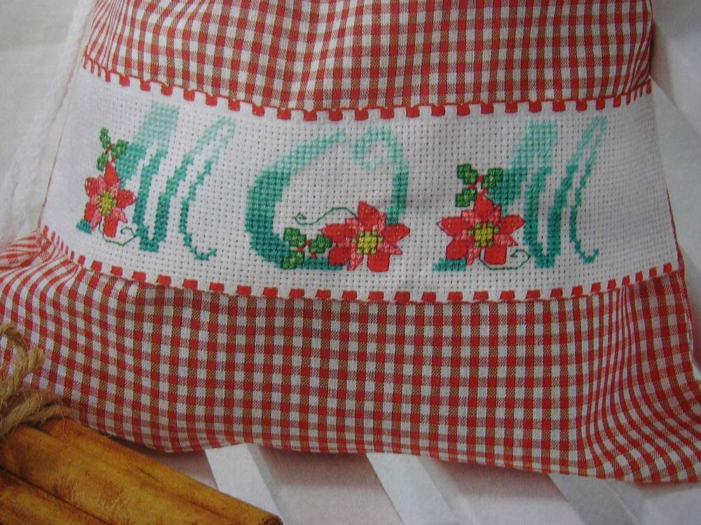 Poinsettia Flower Alphabet ~ 26 Cross Stitch Charts