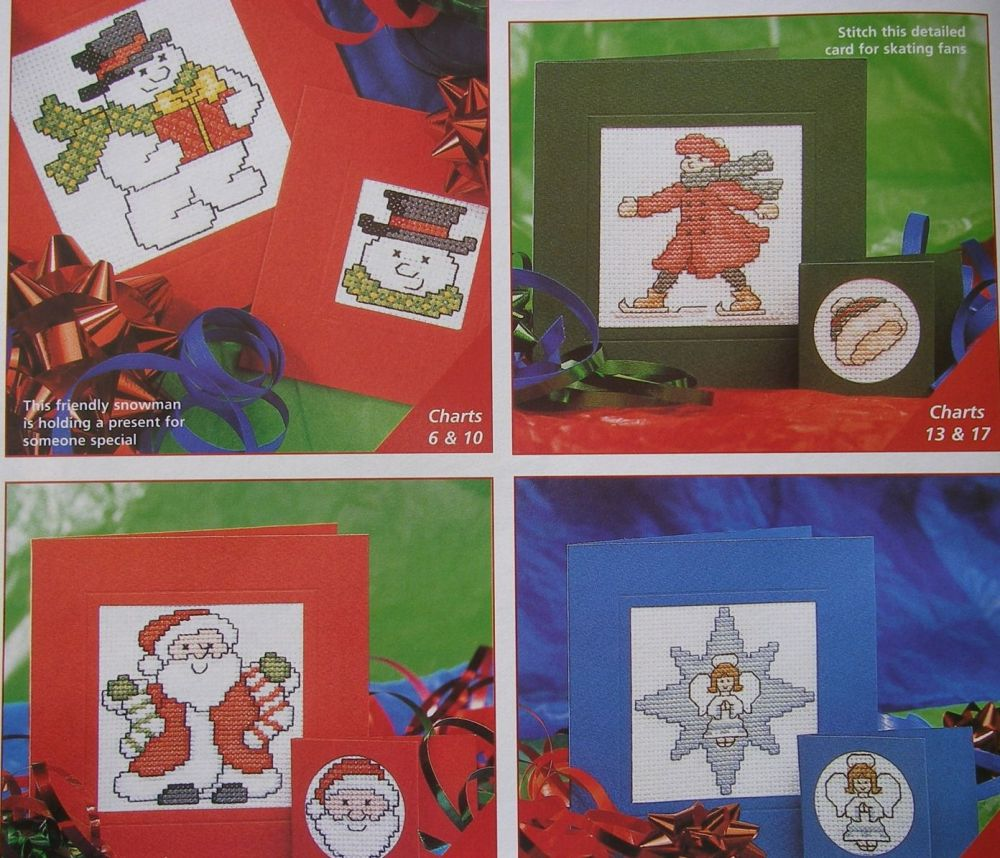 Christmas Cards & Tags ~ 40 Cross Stitch Charts
