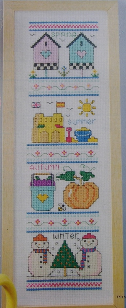 Four Seasons Sampler ~ Cross Stitch Charts