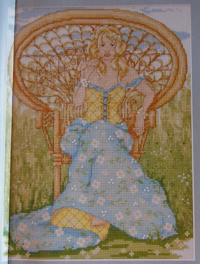 Daisy Princess ~ Cross Stitch Chart