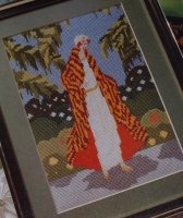 1920's Fashion Plate ~ Cross Stitch Chart