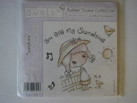 Crafter's Companion S.W.A.L.K. Sunshine ~ Rubber Stamp