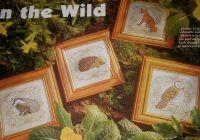 Wild Animals ~ Four Cross Stitch Charts